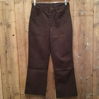 ~80's Wrangler Flare Pants BROWN  W : 29