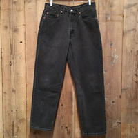 90's Levi's 550 Black Denim Pants  W 32