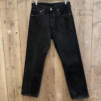 90's Levi's 501 Black Denim Pants  W 33 #3