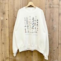 ~90's JERZEES Lighthouse Printed Sweat Shirt