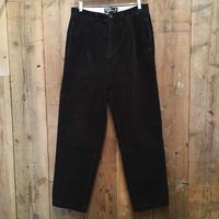 90's Polo Ralph Lauren Two Tuck Corduroy Pants D.NAVY W 32