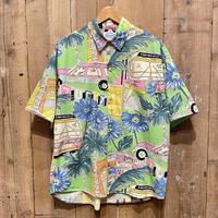 80's~ Jams World Cotton Aloha Shirt