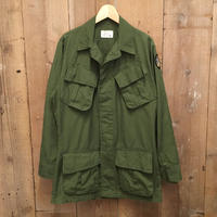 70's U.S.ARMY Jungle Fatigue Jacket 4th