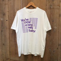 80's FRUIT OF THE LOOM You've come a long way Tee