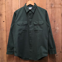 70's BIG MAC Work Shirt D.GREEN
