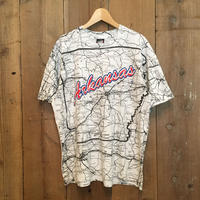 90's  SCREEN STARS Arkansas Map Tee