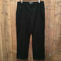 Polo Ralph Lauren Cotton Pants BLACK  W : 36  #1