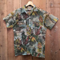 ~50's NEPTUNE Nylon Aloha Shirt