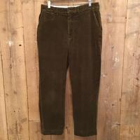 90's Polo Ralph Lauren Corduroy  Pants  BROWN   W:34