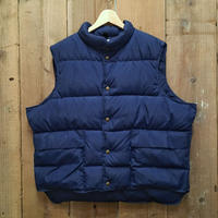 80's L.L.Bean Down Vest NAVY