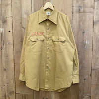 70's BIG MAC Work Shirt MUSTARD