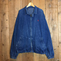 90's Polo Ralph Lauren Denim Swing Top