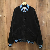 80's DeLONG Corduroy Varsity Jacket