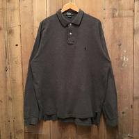 Polo Ralph Lauren L/S Polo shirt  CHARCOAL