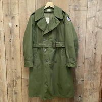 ~70's U.S.ARMY Cotton/Poly Over Coat