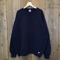 90's RUSSELL ATHLETIC Plain Sweatshirt NAVY