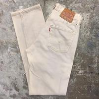 90's Levi's 501 Color Denim Pants L.BEIGE W29