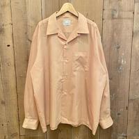60's~ TOWNCRAFT Poly/Cotton Open Collar Shirt