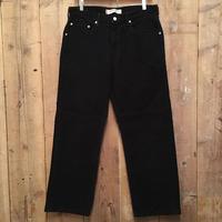 Levi's 569 Corduroy Pants BLACK  W : 33