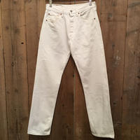 90's Levi's 501 WHITE Denim Pants W:31
