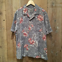 Batik Bay Silk Aloha Shirt GRAY