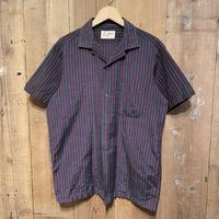 60's~ Johnson Open Collar Shirt