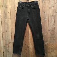 90's Levi's 505 Black Denim Pants  W : 33