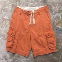 Polo Ralph Lauren Cargo Shorts ORANGE W : 30