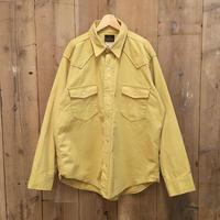 80's DEERSKIN Chamois Cloth Western Shirt