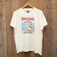 90's SCREEN STARS Softball Tee