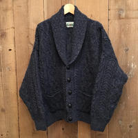 aran crafts Aran Knit shawl collar Cardigan