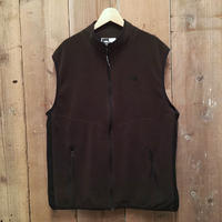90's The North Face Fleece Vest  BROWN