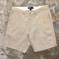 Polo Ralph Lauren Linen Shorts KHAKI W 35
