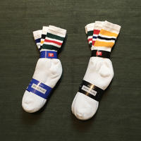 Striped Crew Socks 3Pair