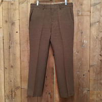 70's Levi's Flare Action Slacks