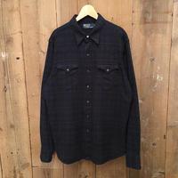 Polo Ralph Lauren Cotton Flannel Western Shirt