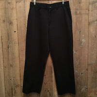 90's TOMMY HILFIGER  Cotton Pants BLACK W:34