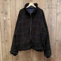 90's NAUTICA Fleece Nylon Reversible Jacket