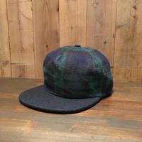90's~ BRONER Wool Blended Cap