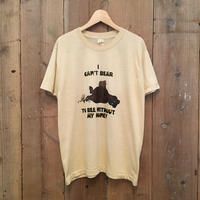 80's  SCREEN STARS Bear & Bee Tee