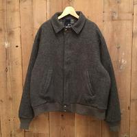 80's Woolrich Wool Blouson GRAY