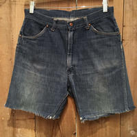 60's MONTGOMERY WARD 101 Cut Off Denim Shorts