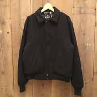 80's Woolrich Wool Blouson CHARCOAL
