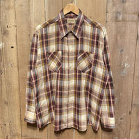 ~80's WEDGEFIELD Poly/Cotton  Shirt