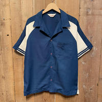 70's~ Catalina Open Collar Work Shirt