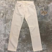 90's Levi's 501 Color Denim Pants L.BEIGE W : 29