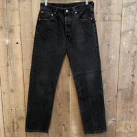 90's Levi's 501 Black Denim Pants  W 33 #2
