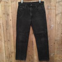 90's Levi's 505 Black Cotton Pants  W 36  #3