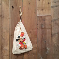 70's~ MICKY MOUSE Hand Pouch