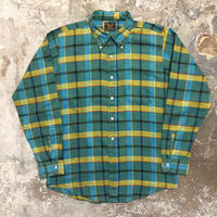 70's Sears B.D Plaid Shirt
